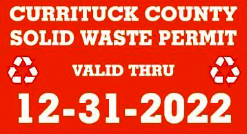 Solid Waste Permit Decal
