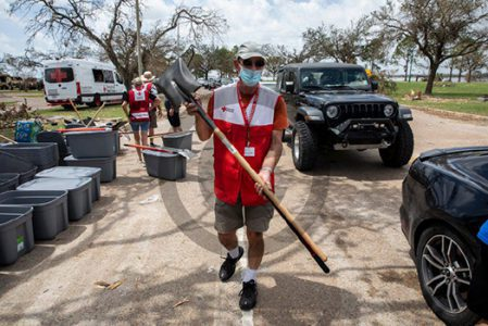 """<span style=""""color: #7b1010; font-weight: bold;"""">Volunteers Needed<br />Join A Disaster Action Team<br />Saturday, October 23, 2021</span>"""